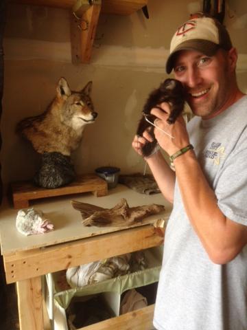 Scott M and his little friend!