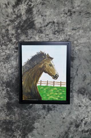 Victoria Koziolek horse painting open