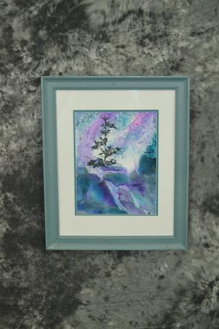 Water Color Collage - Laurie Graber
